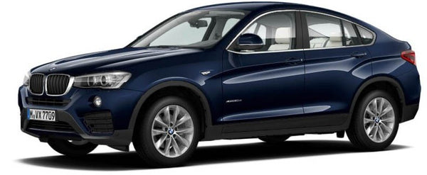 Paragon Models BMW X4 F26 1/18 Imperial Blue - Hobbytoys - 1