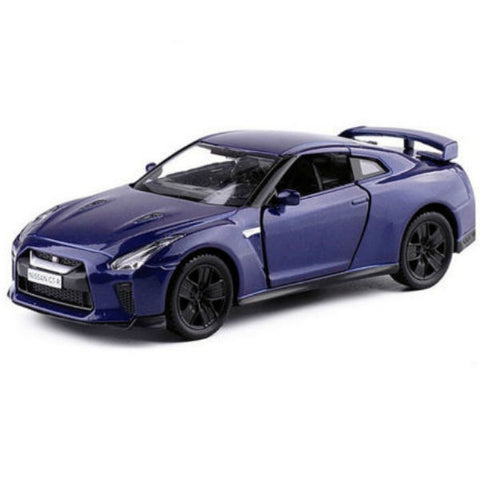 RMZ City Nissan GT-R R35 Blue