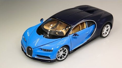 Welly Bugatti Chiron 1/24 blue