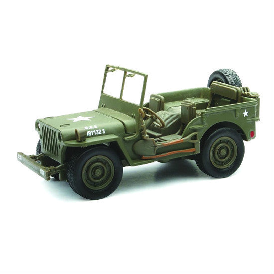 Battery Operated Ride On Toys >> New-Ray Jeep Willys Diecast Model - Hobbytoys.co