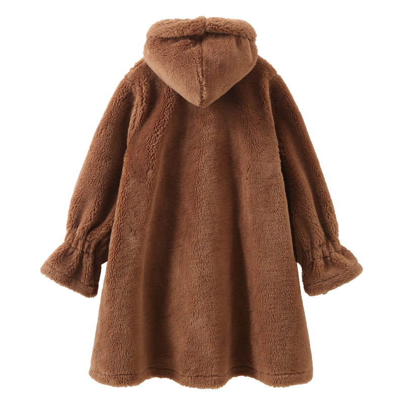 Doll Teddy Cape - Brown
