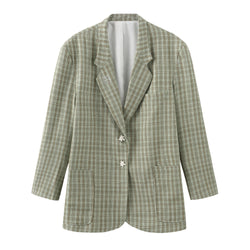White Puzzle JOMO Blazer - 2 Colors