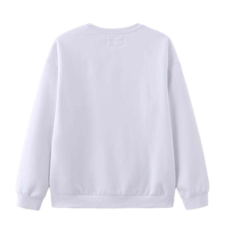 310MOOD x Wild is Life Slogan Sweatshirt - White