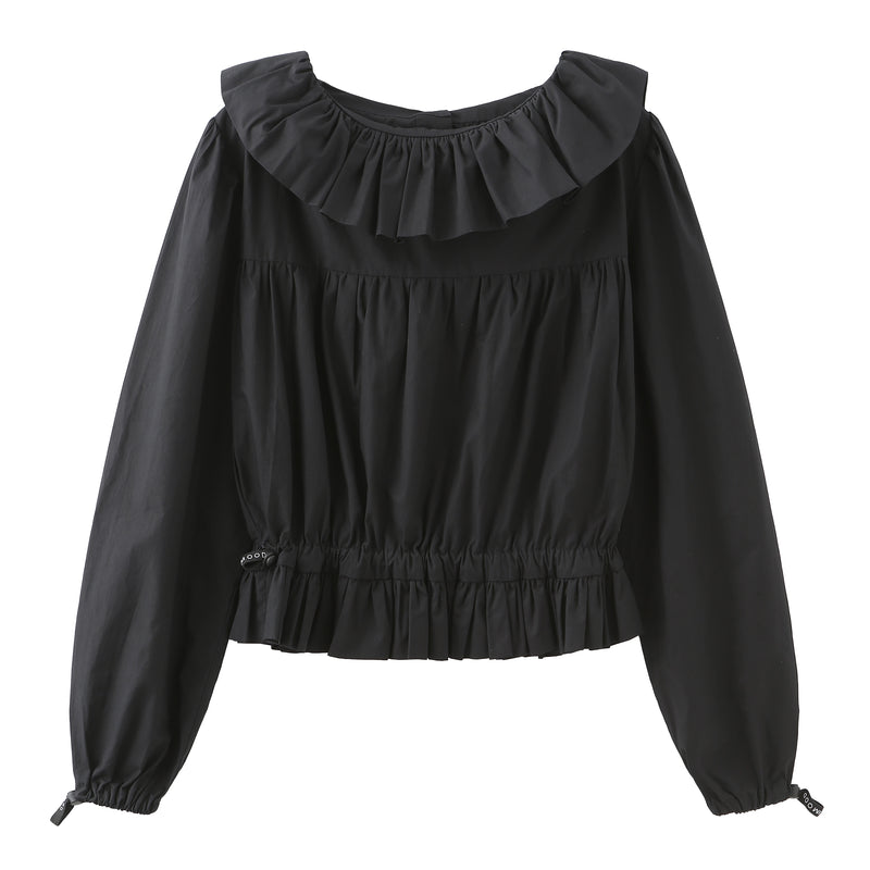 Victorian Crop Blouse - 2 Colors