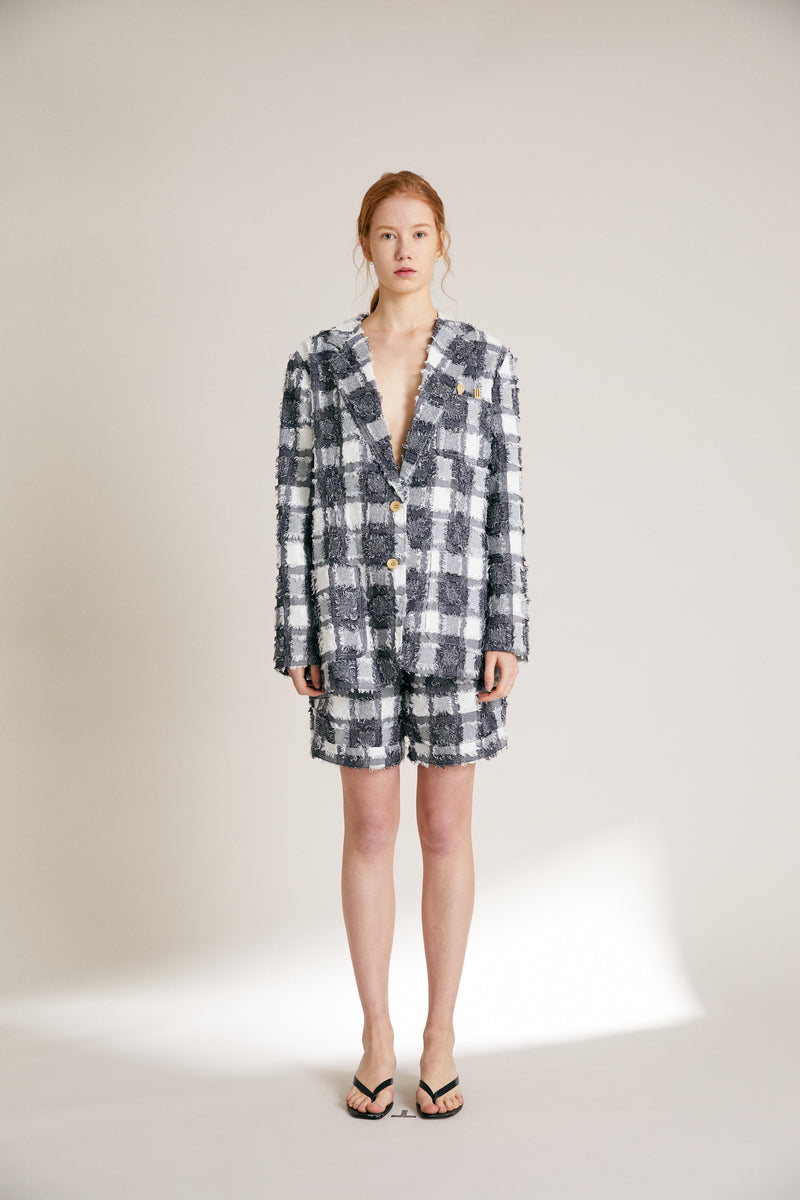 Tableware Blazer - Plaid