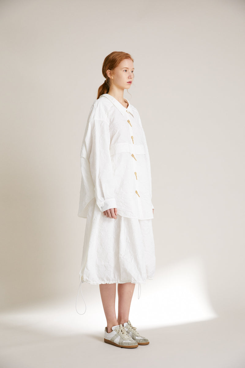 Tableware Shirt Dress - 3 Colors