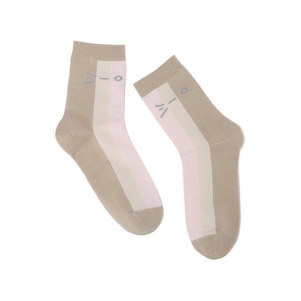 Tricolor Ice Cream Sock (2156664717408)
