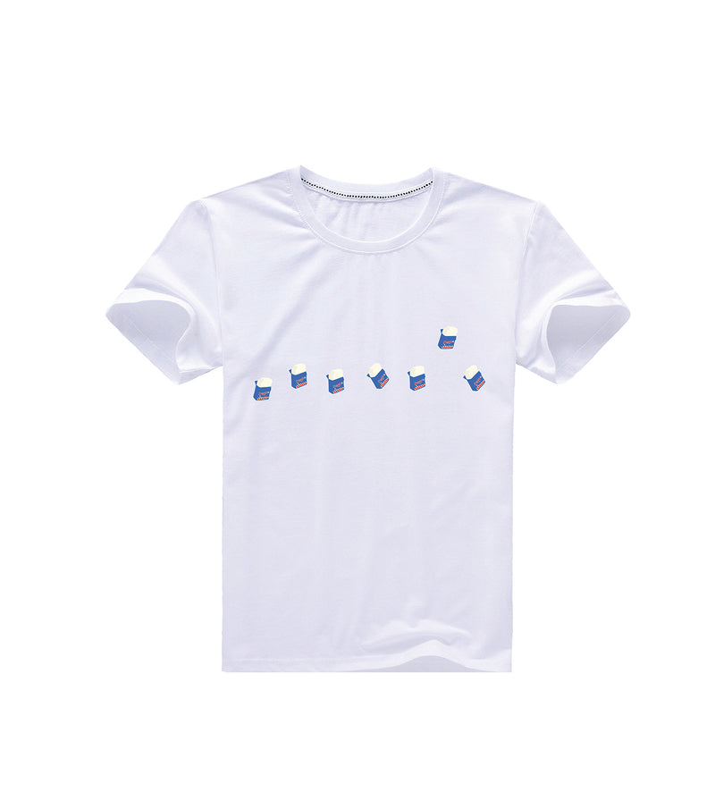 Cube Ice Cream Tee - White (2155512430688)