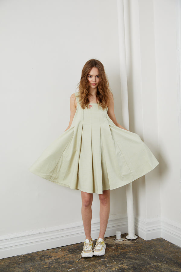 Another Aline Dress - Lemonade