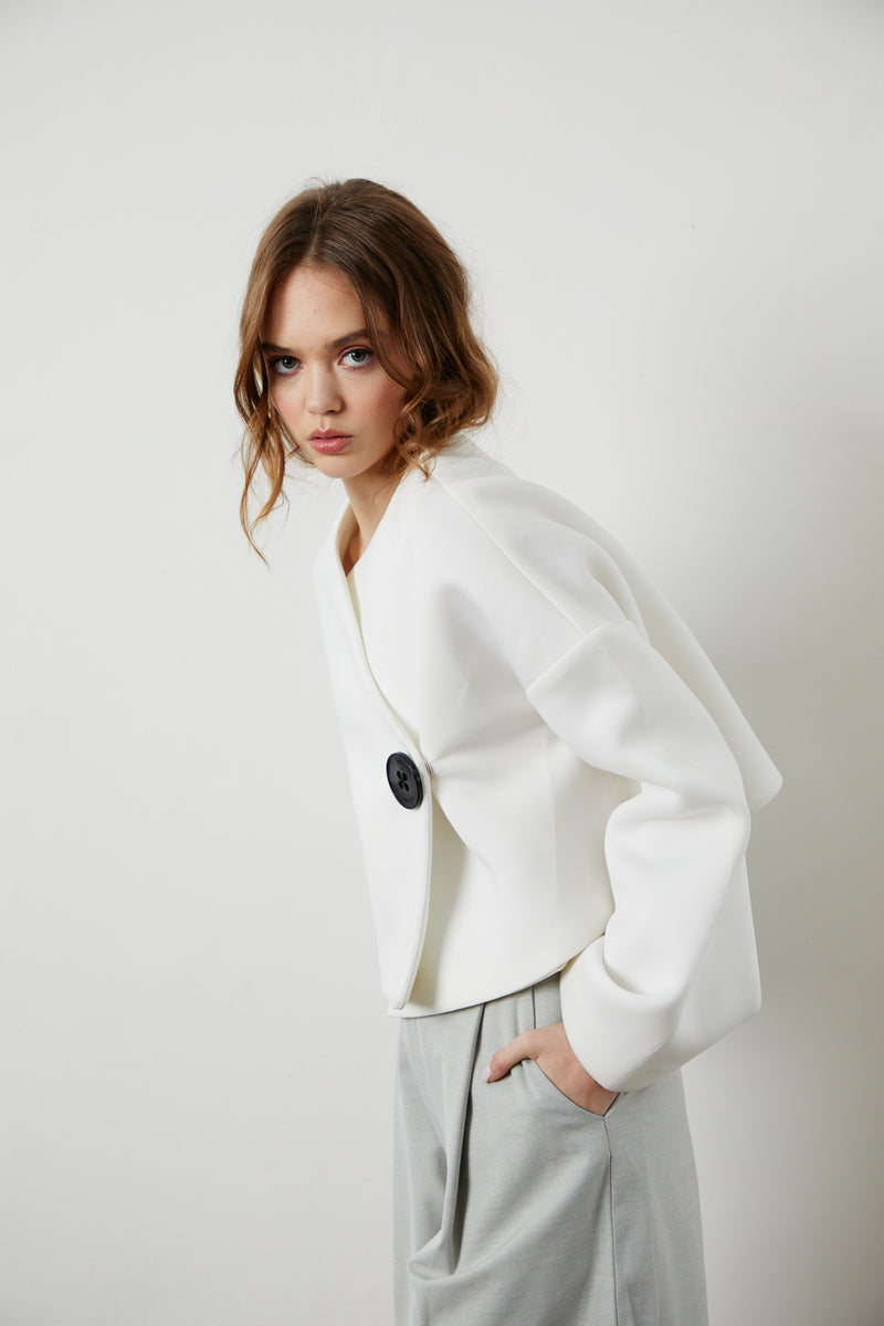 Dolly Jacket - White