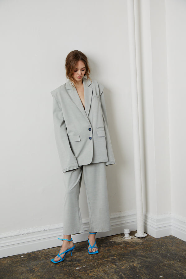 Little Power Suit Pants - Grey