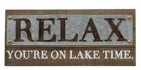 Lake House Metal & Wood Set