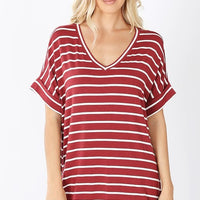 Walkin' The Dock Stripe Top