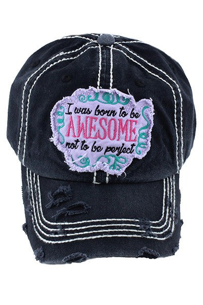 751792cce81 Born Awesome Cap