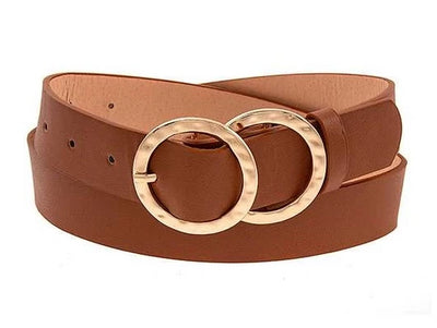 Double Ring Buckle Belt