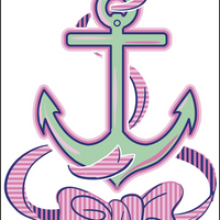 Its a Bow Anchor Decal