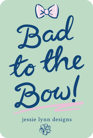 JLD Bad to the Bow Decal