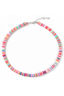 Disc Beads Choker Necklace