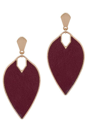Marquise Dangle Post Earring