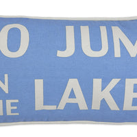 C4C Lake Themed Canvas Pillows