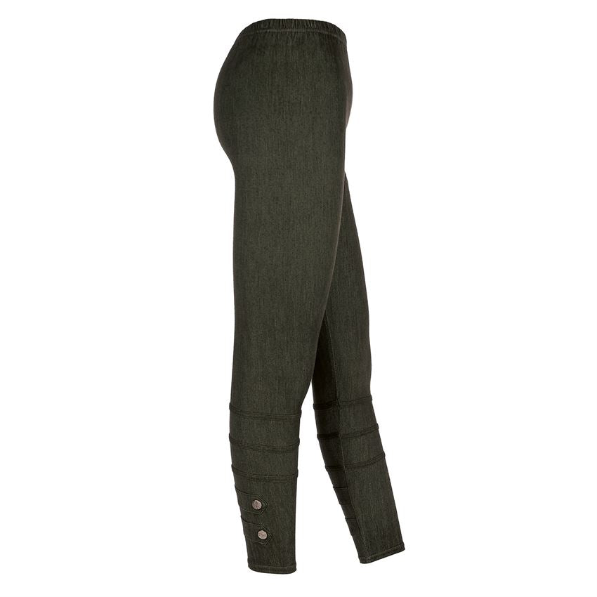 Coco+Carmen Moto Jeggings with Button Detail
