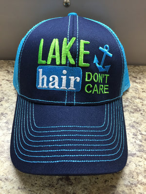 Lake Hair Don't Care Ballcap