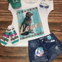 Love Chocolate Sublimated Tee