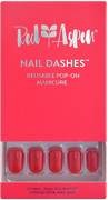Red Aspen Nail Dashes - Short