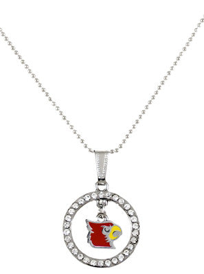 UofL Hoop & Dangle Necklace