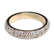 Crystal Bangle Thick