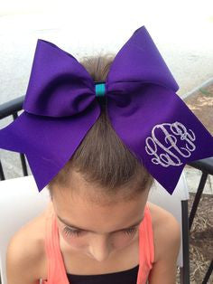 Cheer Bow with Clip