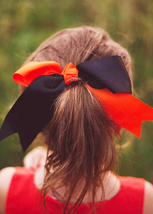 School Spirit Cheer Bow