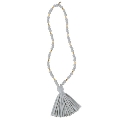 Jersey Tassel Necklace
