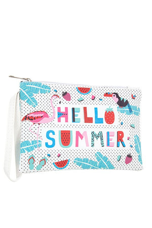 Hello Summer Pouch Bag