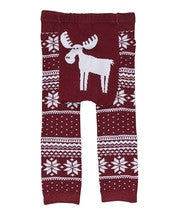 DP Fair Isle Moose Leggings