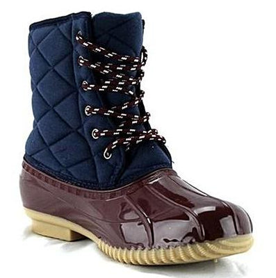 Quilted Duck Boot