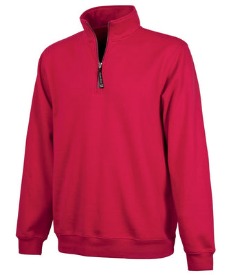 Charles River 1/4 Zip Sweatshirt - Red