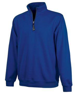 Charles River 1/4 Zip Sweatshirt - Royal