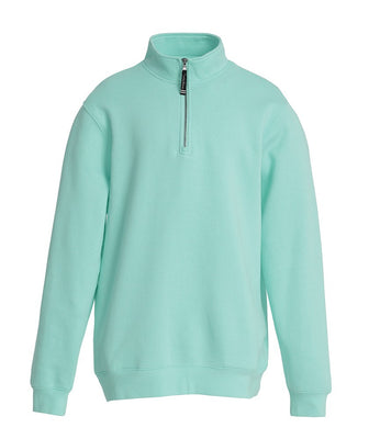 Charles River 1/4 Zip Sweatshirt - Mint