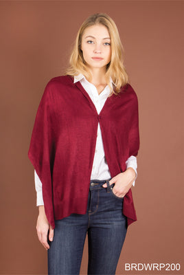 Bordeaux Wrap Rich Hues