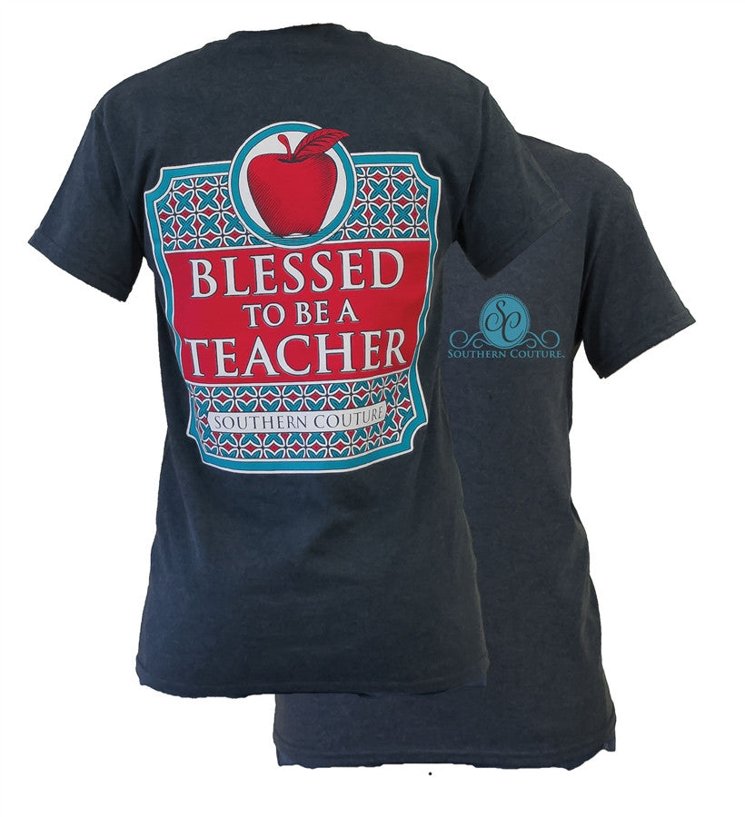 Southern Couture Classy Teacher Tee