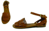 """Candle"" Woven Flat Sandal"
