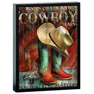 Cowboy Boots Sublimated Tee