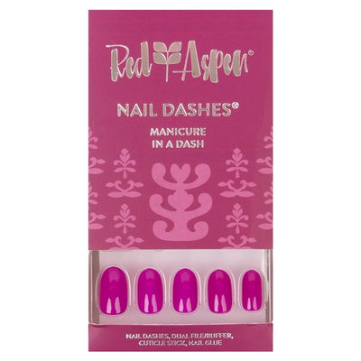 Red Aspen Nail Dashes - Medium