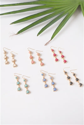 Dainty Diamond Earrings