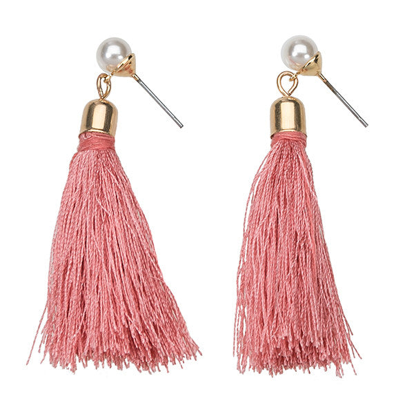 Brooklyn Tassel Earrings
