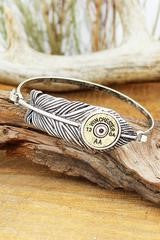 Winchester Feather Bangle