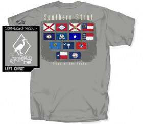 Flags of the South Comfort Colors S/S Tee