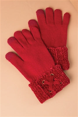 Velour Me In Gloves