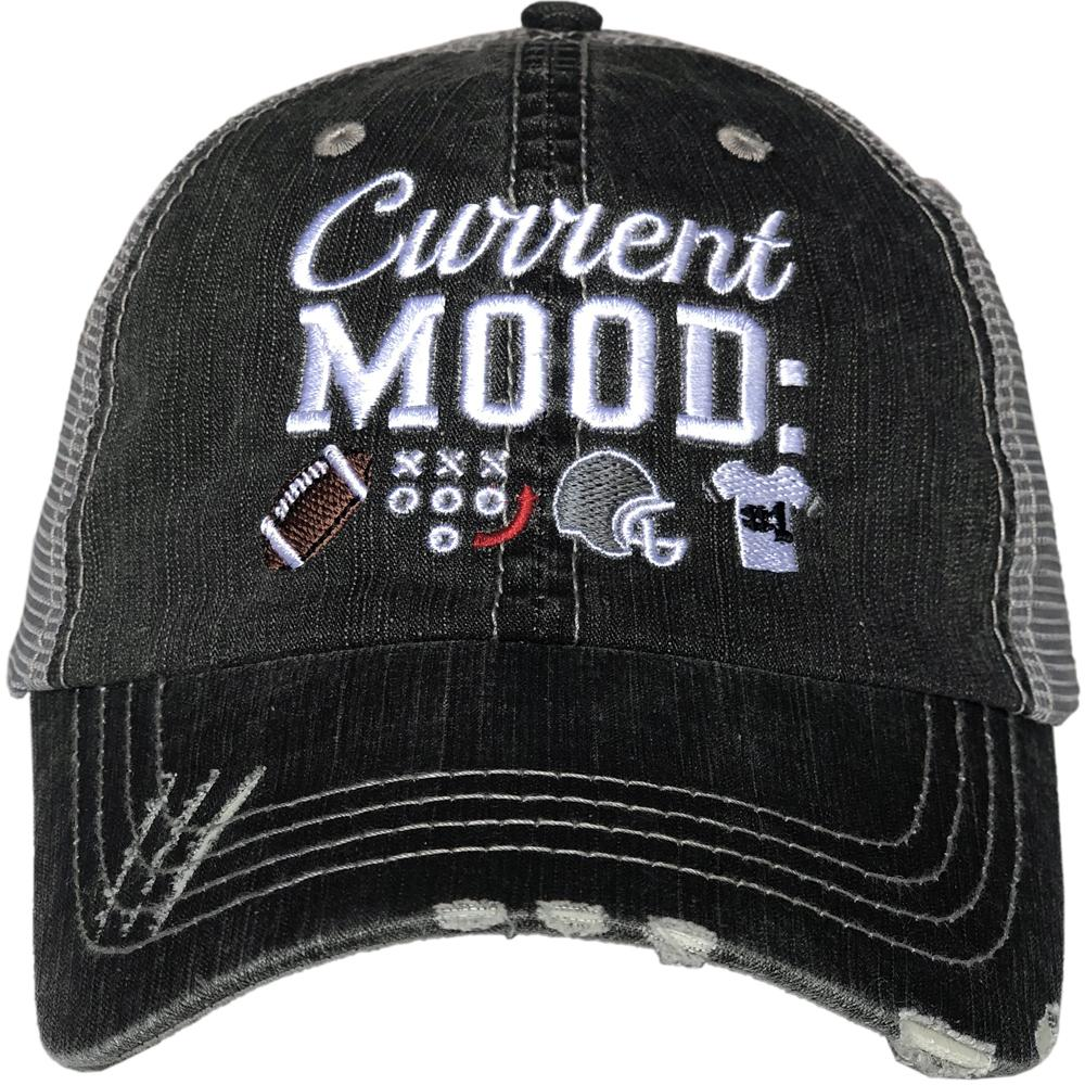 Current Mood Football Cap